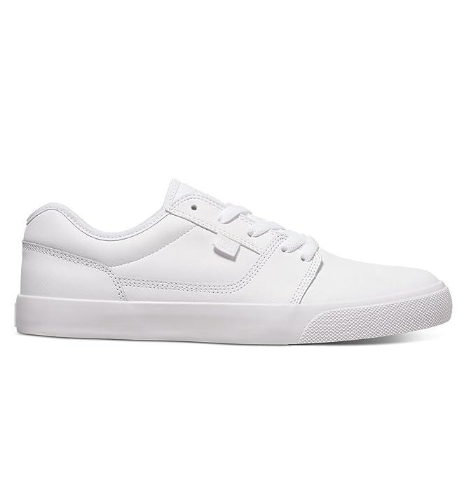 DC Shoes Tonik Sneakers Skateboardschuhe Herren Damen Unisex Erwachsene Weiß