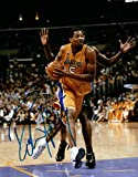 Robert Horry Signed 8X10 Autograph Photo Driving the Lane w/COA Lakers