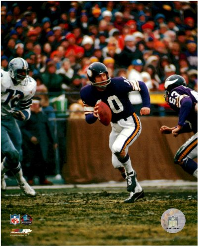 Fran Tarkenton Minnesota Vikings Unsigned Licensed Football Photo