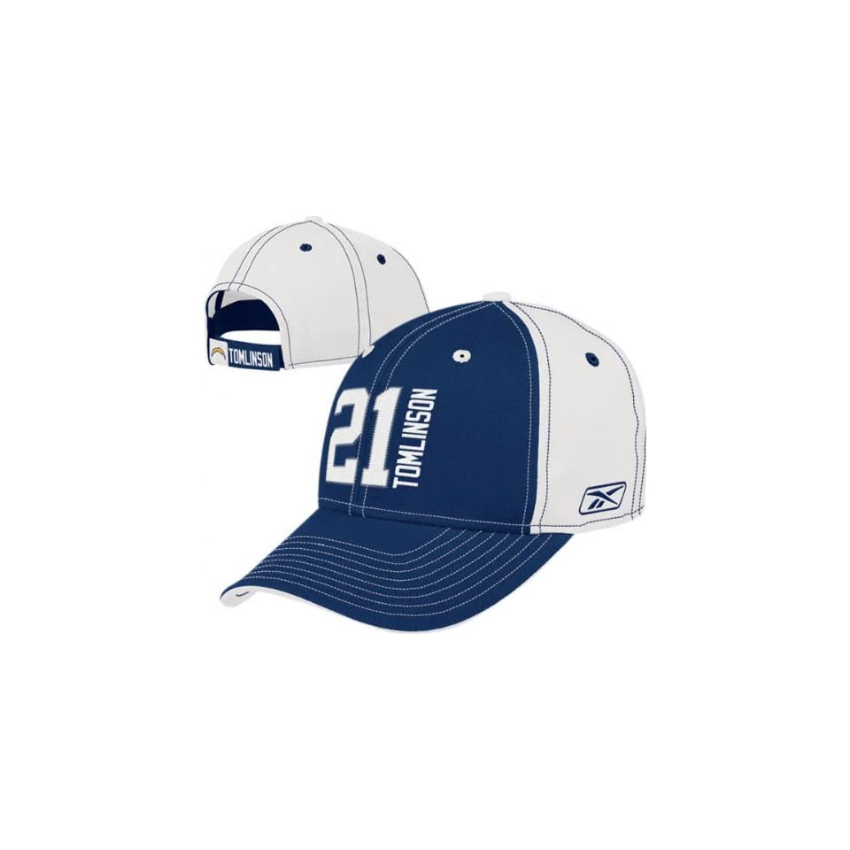 Ladainian Tomlinson San Diego Chargers Name and Number Adjustable Hat