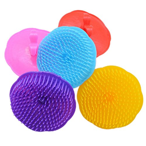 Price comparison product image DDLBiz Silicone Shampoo Scalp Shower Body Washing Hair Massage Massager Brush Comb