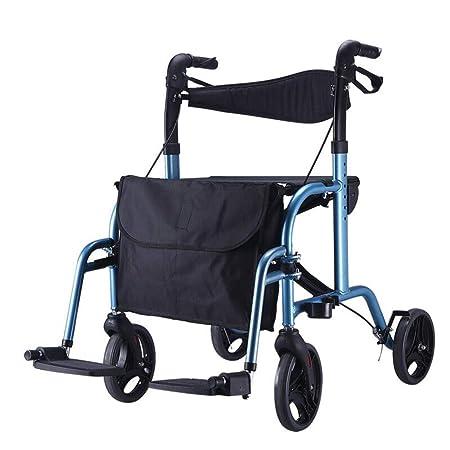 YANHX Andador  Caminante Anciano, Carro De Compras, Mini ...
