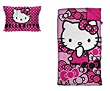 Sanrio Hello Kitty Sleepover Set with Pillow (2 Piece)