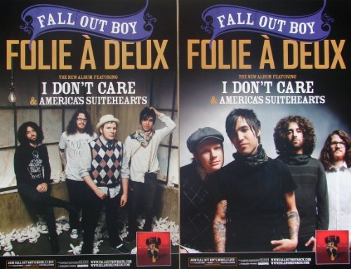 Fall Out Boy Poster Folie A Deux Double Sided Fallout