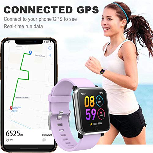LEKOO Fitness Tracker Smart Watch with Heart Rate Monitor Fit Tracker Waterproof Activity Tracker with Step Counter Fit Watch Sleep Monitor Step Counter for Men and Women