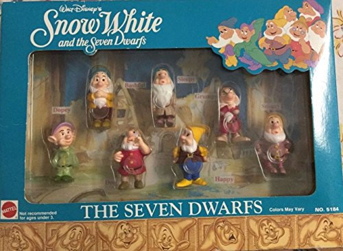 Snow White and the Seven Dwarfs No 5184 Walt Disney (7 Dwarfs Costume)