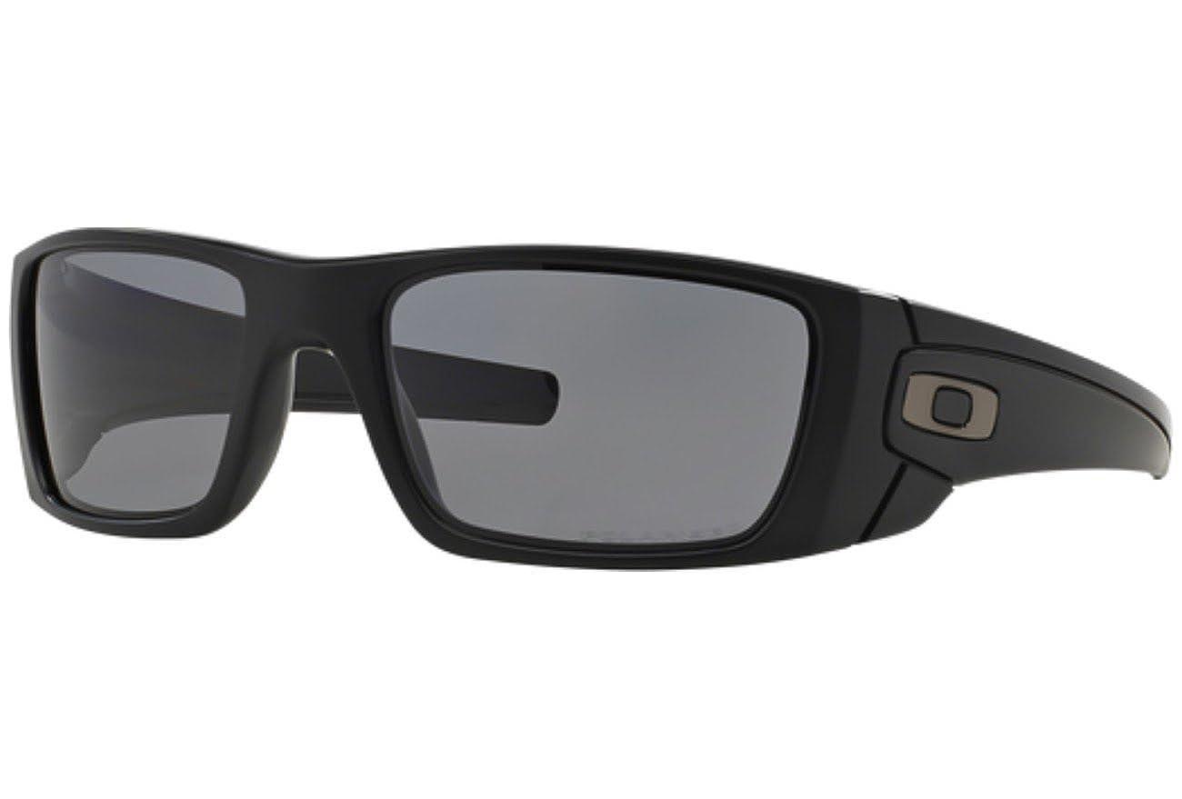 Oakley Polarisierte Sonnenbrillen Fuel Cell Matte Schwarz Grau