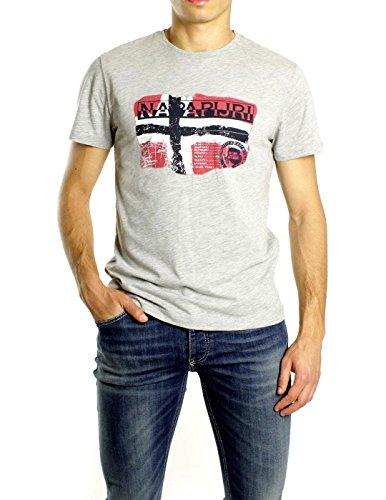 Napapijri Herren T-Shirt grau grau XL