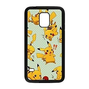 Samsung Galaxy S5 Mini Cell Phone Case Black Cartoon Game Pikachu Custom Case Cover A11A567566