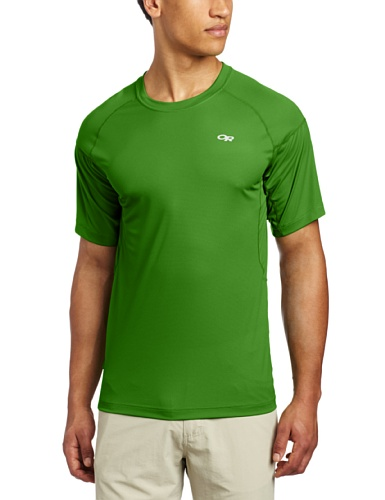 Price comparison product image Outdoor Research Men's Echo Tee, Flash/Lemongrass, Medium