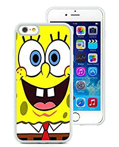 Sponge Bob HD-640x1136 wallpapers White Customize iPhone 6 4.7 Inch Silicone TPU Phone Case