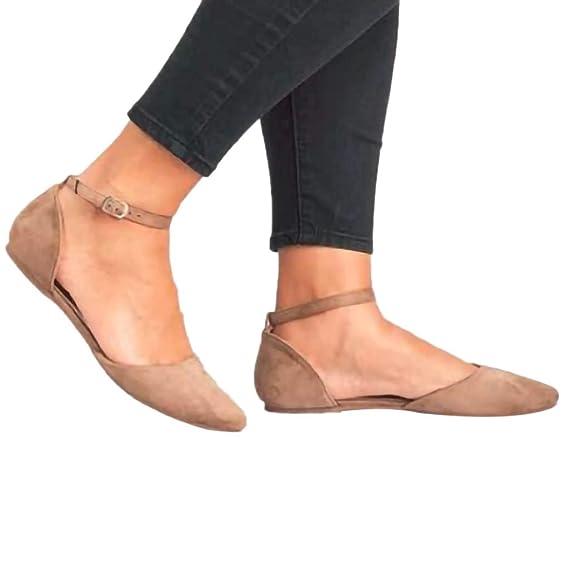 ... Puntiagudas Boca Poco Profunda Plataforma Sola Hebilla Desnuda Botas Sola Correa Zapatos De Playa Sandalias Mocasines: Amazon.es: Ropa y accesorios