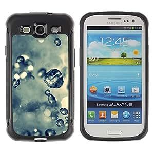 Pulsar Defender Series Tpu silicona Carcasa Funda Case para SAMSUNG Galaxy S3 III / i9300 / i747 , Plant Nature Forrest Flower 61
