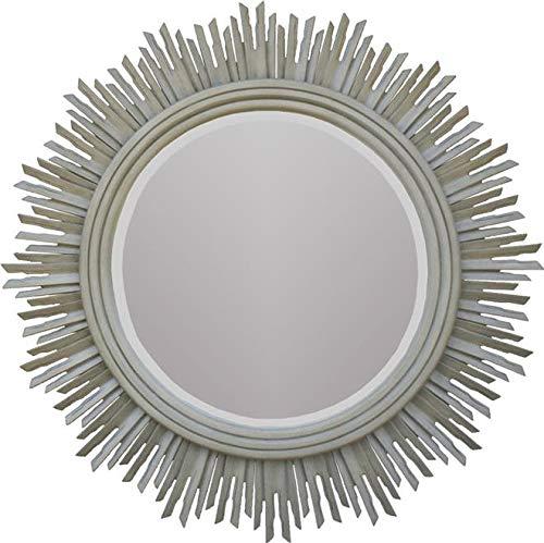 - Alden Parkes Wall Mirror Helios Sun Rays Round Mid-Century Modern Large