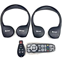 OEM Chrysler Dodge Jeep Uconnect Headphones Bundle From REMOTE STORE W/ New 7 Button Keyless Entry