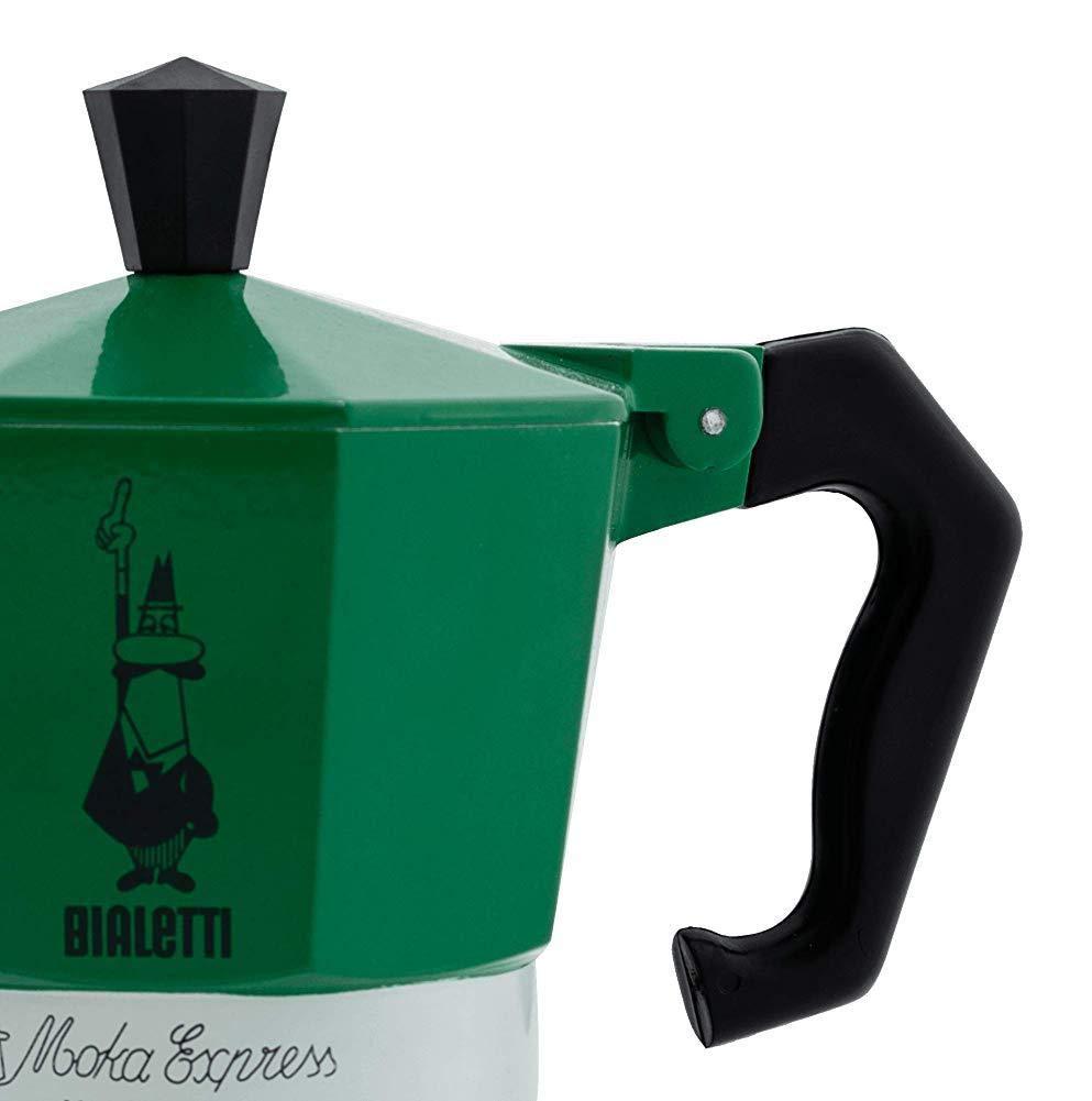 Tricolor 3 Copa Cafetera KEYkey Utensilios de caf/é de Accesorios Moka expreso Italia