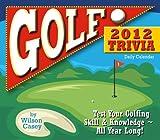Golf Trivia 2012 Calendar