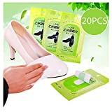 Disposable Wipes,Sealed Shoe Shine Wipes,Quick Way to Polish Shoes On The Go,for All Leather Colors (B)
