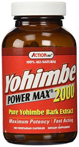 Yohimbe Power Max 2000 100 Capsules