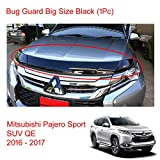 Powerwarauto Black Bug Guard Shield Hood Big Size