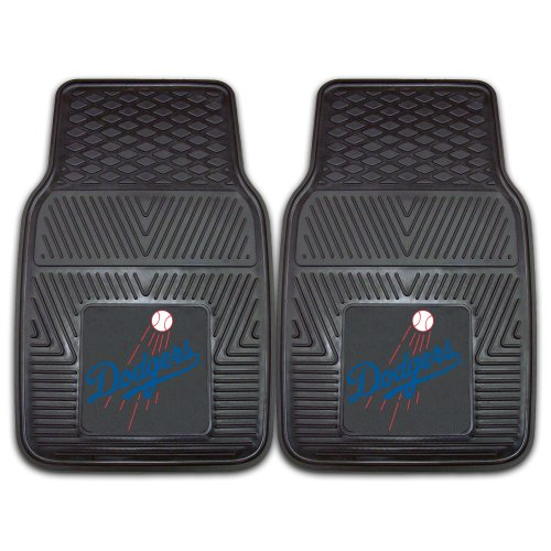 FANMATS MLB Los Angeles Dodgers Vinyl Heavy Duty Car Mat