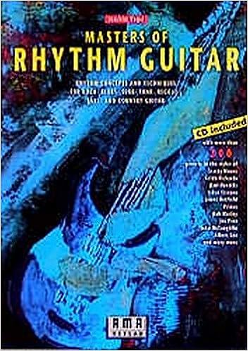 Joachim Vogel vogel masters of rhythm guitar book cd set joachim vogel