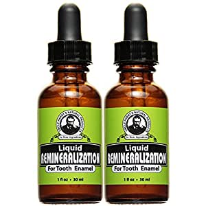 Pack of 2 Uncle Harry's Remineralization Liquid For Tooth Enamel (1 fl oz)