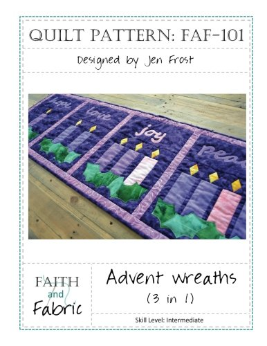 (Advent Wreaths Quilt Pattern)