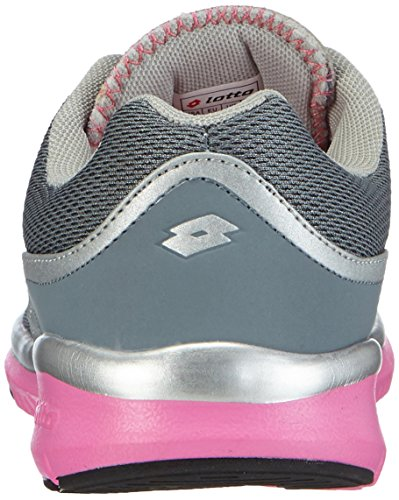 Lotto Ariane III W, Chaussures de Course Femme Multicolore - Mehrfarbig (Pebble/Glos Fl)