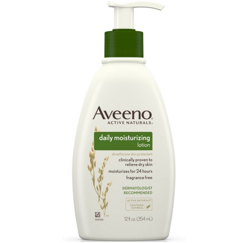 Aveeno Active Naturals Daily Moisturizing Lotion (12 oz)
