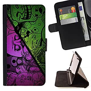 DEVIL CASE - FOR LG G2 D800 - cool funny internet meme troll sad no why bear face - Style PU Leather Case Wallet Flip Stand Flap Closure Cover