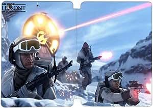 Cubierta de cuero y caja de la PC funda / soporte para funda de Apple iPad Mini 4 funda Con Magnetic reposo automático Función de despertador DIY por Star Wars Battlefront Q6D8Qu3O4Hz