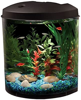 KollerCraft API Aquaview 180 Aquarium Kit with LED Lighting and Internal Filter, 3-1/2-Gallon