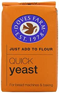 Doves Farm Quick Yeast 125g: Amazon.es: Electrónica