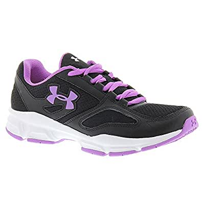 Under Armour UA Zone Shoe - Women's Black / White / Exotic Bloom 9