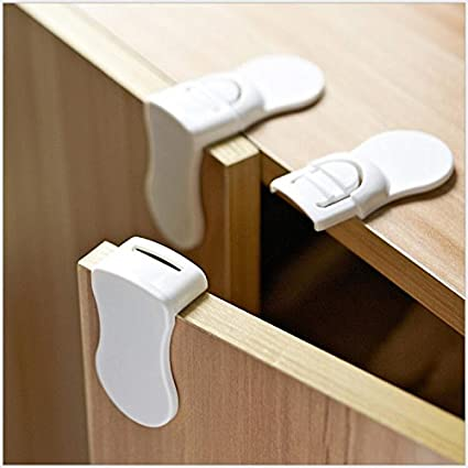 Superieur Baby Safety Locks Child Proof Locking Cabinet Drawer Cupboard And Corner  Protector, No Tools Needed