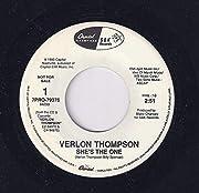 She's the One – tekijä: Verlon Thompson
