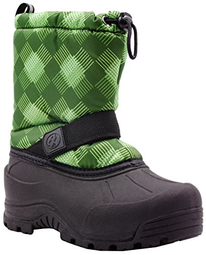 Northside Frosty Snow Boot (13 M US Little Kid, Forest (Forest Green Heels)