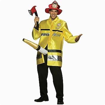 8bd107de3f839f Der Feuerlöscher - Feuerwehrmann - Kostüm für Erwachsene: Amazon.de ...