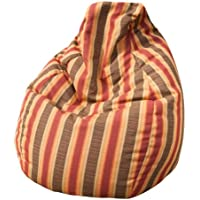 Gold Medal Bean Bags Sunbrella Outdoor/Indoor Weather Resistant Bean Bag, Dimone Sequoia