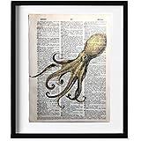 Octopus Dictionary Art