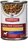 Hill'S Science Diet Adult Healthy Cuisine Wet Dog Food, Braised Beef Carrots & Peas Stew Canned Dog Food, 12.5 Oz, 12 Pack