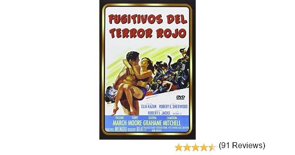 Fugitivos Del Terror Rojo [DVD]: Amazon.es: Fredric March, Terry ...