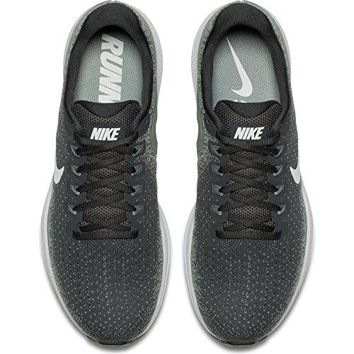 Nike Mens Air Zoom Vomero 13 Scarpa Da Corsa Antracite / Appena Grigio-argilla Verde 11.5