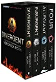 Collection Set: Four, Divergent, Insurgent, Allegiant - 4 Books