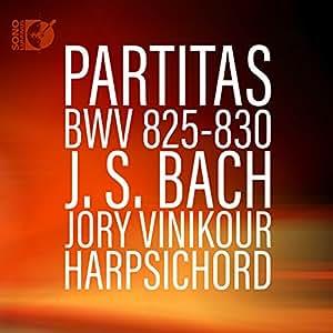 Johann Sebastian Bach: Partitas, BWV 825-830