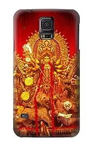 E1030 Hindu God Durga Puja Funda Carcasa Case para Samsung Galaxy S5