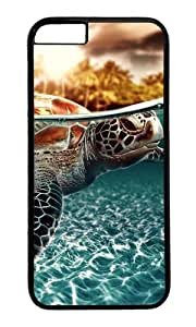 iPhone 6 Plus Case,VUTTOO Stylish Sea Turtle Hard Case For Apple iPhone 6 Plus (5.5 Inch) - PC Black