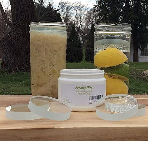 how to clean fermentation crock weights