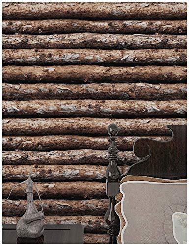 HaokHome 610863 Faux Wood Wallpaper Peel Stick Tree for sale  Delivered anywhere in Canada